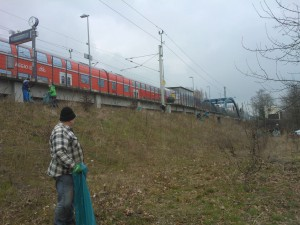 Umwelttag 2015, Bahnhof Erkner