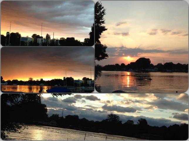 Sonnenuntergang_Collage